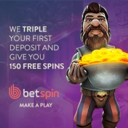 betspins 150 free spins