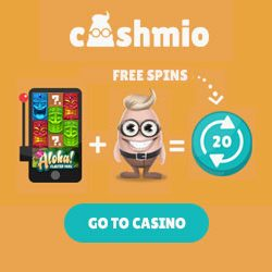 cashmio casino 20 no deposit spins