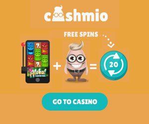 cashmio casino 20 no deposit spins