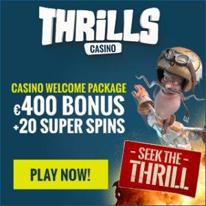 thrills casino deposit bonus offer