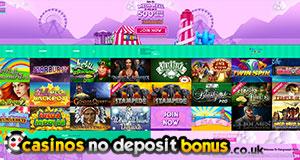 fairground slots and casino homepage